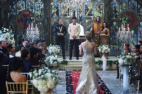 """SHADOW HUNTERS - """"Malec"""" - On the eve of Alec and Lydia's wedding relationships are being examined in """"Malec,"""" an all-new episode of """"Shadowhunters,"""" airing TUESDAY, MARCH 29 (9:00 – 10:00 p.m., EST) on Freeform, the new name for ABC Family. (Freeform/John Medland) DOMINIC SHERWOOD, MATTHEW DADDARIO, STEPHANIE BENNETT, STEPHEN R. HART, EMERAUDE TOUBIA"""