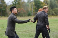 """SHADOW HUNTERS - """"Malec"""" - On the eve of Alec and Lydia's wedding relationships are being examined in """"Malec,"""" an all-new episode of """"Shadowhunters,"""" airing TUESDAY, MARCH 29 (9:00 – 10:00 p.m., EST) on Freeform, the new name for ABC Family. (Freeform/John Medland) HARRY SHUM JR., DOMINIC SHERWOOD"""