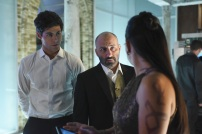 """SHADOW HUNTERS - """"Morning Star"""" - Time is running out for the Shadowhunters to stop Valentine in """"Morning Star,"""" the season finale of """"Shadowhunters,"""" airing TUESDAY, APRIL 5 (9:00 - 10:00 p.m. EDT) on Freeform. (Freeform/John Medland) MATTHEW DADDARIO, PAULINO NUNES"""