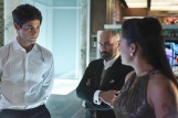 "SHADOW HUNTERS - ""Morning Star"" - Time is running out for the Shadowhunters to stop Valentine in ""Morning Star,"" the season finale of ""Shadowhunters,"" airing TUESDAY, APRIL 5 (9:00 - 10:00 p.m. EDT) on Freeform. (Freeform/John Medland) MATTHEW DADDARIO, PAULINO NUNES, NICOLA CORREIA DAMUDE"