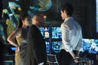 "SHADOW HUNTERS - ""Morning Star"" - Time is running out for the Shadowhunters to stop Valentine in ""Morning Star,"" the season finale of ""Shadowhunters,"" airing TUESDAY, APRIL 5 (9:00 - 10:00 p.m. EDT) on Freeform. (Freeform/John Medland) NICOLA CORREIA DAMUDE, PAULINO NUNES, MATTHEW DADDARIO"