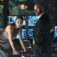 """SHADOW HUNTERS - """"Morning Star"""" - Time is running out for the Shadowhunters to stop Valentine in """"Morning Star,"""" the season finale of """"Shadowhunters,"""" airing TUESDAY, APRIL 5 (9:00 - 10:00 p.m. EDT) on Freeform. (Freeform/John Medland) NICOLA CORREIA DAMUDE, PAULINO NUNES"""