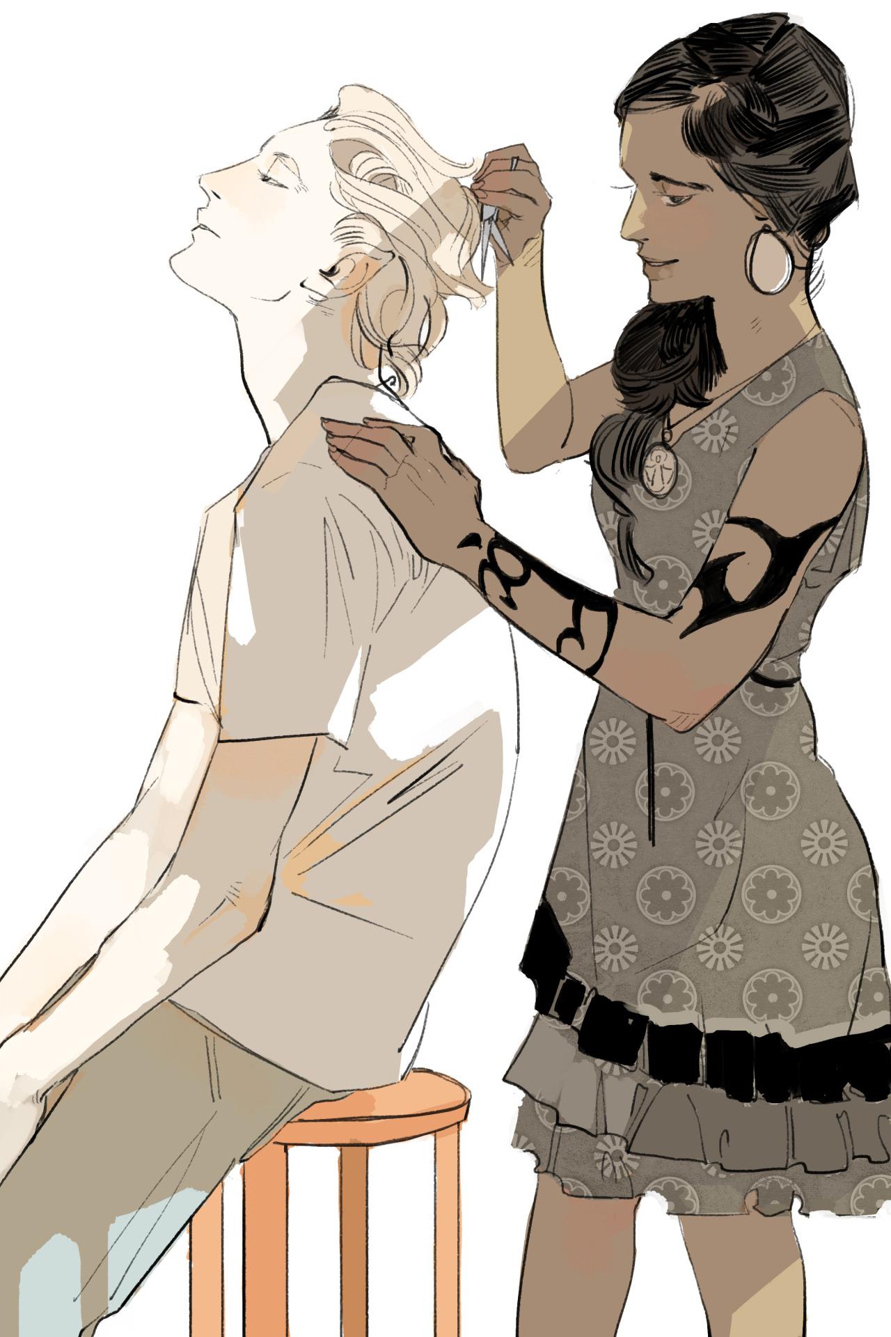Resultado de imagen de lady midnight el renacimiento personajes