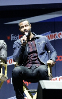 "SHADOWHUNTERS - The cast and producers of Freeform's ""Shadowhunters,"" are featured at the COMIC CON Convention at the Jacob Javits Center in New York City on October 8, 2016. (Freeform/Lou Rocco) ISAIAH MUSTAFA"
