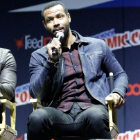 """SHADOWHUNTERS - The cast and producers of Freeform's """"Shadowhunters,"""" are featured at the COMIC CON Convention at the Jacob Javits Center in New York City on October 8, 2016. (Freeform/Lou Rocco) ISAIAH MUSTAFA"""
