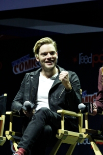"SHADOWHUNTERS - The cast and producers of Freeform's ""Shadowhunters,"" are featured at the COMIC CON Convention at the Jacob Javits Center in New York City on October 8, 2016. (Freeform/Lou Rocco) DOMINIC SHERWOOD"