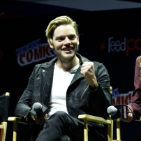"""SHADOWHUNTERS - The cast and producers of Freeform's """"Shadowhunters,"""" are featured at the COMIC CON Convention at the Jacob Javits Center in New York City on October 8, 2016. (Freeform/Lou Rocco) DOMINIC SHERWOOD"""
