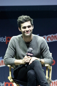 "SHADOWHUNTERS - The cast and producers of Freeform's ""Shadowhunters,"" are featured at the COMIC CON Convention at the Jacob Javits Center in New York City on October 8, 2016. (Freeform/Lou Rocco) MATTHEW DADDARIO"