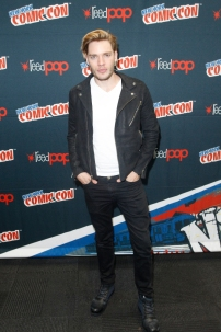 """SHADOWHUNTERS - The cast and producers of Freeform's """"Shadowhunters,"""" are featured at the COMIC CON Convention at the Jacob Javits Center in New York City on October 8, 2016. (ABC/Freeform) DOMINIC SHERWOOD"""
