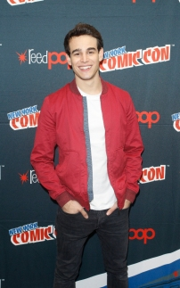"SHADOWHUNTERS - The cast and producers of Freeform's ""Shadowhunters,"" are featured at the COMIC CON Convention at the Jacob Javits Center in New York City on October 8, 2016. (ABC/Freeform) ALBERTO ROSENDE"