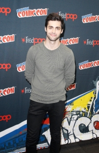 """SHADOWHUNTERS - The cast and producers of Freeform's """"Shadowhunters,"""" are featured at the COMIC CON Convention at the Jacob Javits Center in New York City on October 8, 2016. (ABC/Freeform) MATTHEW DADDARIO"""