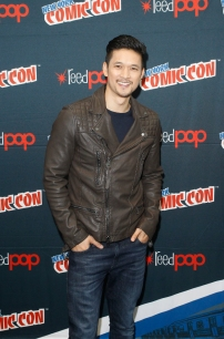 "SHADOWHUNTERS - The cast and producers of Freeform's ""Shadowhunters,"" are featured at the COMIC CON Convention at the Jacob Javits Center in New York City on October 8, 2016. (ABC/Freeform) HARRY SHUM JR."