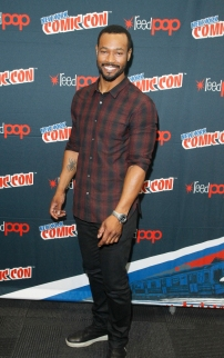 "SHADOWHUNTERS - The cast and producers of Freeform's ""Shadowhunters,"" are featured at the COMIC CON Convention at the Jacob Javits Center in New York City on October 8, 2016. (ABC/Freeform) ISAIAH MUSTAFA"