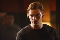 "SHADOWHUNTERS - Everyone is on the hunt for Jace, but all for their own reasons in ""Parabatai Lost,"" an all new episode of ""Shadowhunters,"" airing MONDAY, JANUARY 16 (8:00 – 9:00 PM EDT) on Freeform. - (Freeform/John Medland) DOMINIC SHERWOOD"
