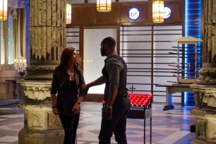"SHADOWHUNTERS - ""Day of Wrath"" - No one is safe when the Shadowhunters come up against a new kind of demon in ""Day of Wrath,"" an all new episode of ""Shadowhunters,"" airing MONDAY, JANUARY 23 (8:00 – 9:00 PM EDT) on Freeform. (Freeform/ Ben Mark Holzberg) MAXIM ROY, ISAIAH MUSTAFA"
