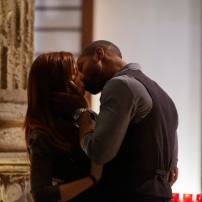 """SHADOWHUNTERS - """"Day of Wrath"""" - No one is safe when the Shadowhunters come up against a new kind of demon in """"Day of Wrath,"""" an all new episode of """"Shadowhunters,"""" airing MONDAY, JANUARY 23 (8:00 – 9:00 PM EDT) on Freeform. (Freeform/ Ben Mark Holzberg) MAXIM ROY, ISAIAH MUSTAFA"""