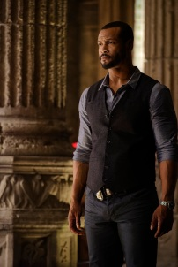 "SHADOWHUNTERS - ""Day of Wrath"" - No one is safe when the Shadowhunters come up against a new kind of demon in ""Day of Wrath,"" an all new episode of ""Shadowhunters,"" airing MONDAY, JANUARY 23 (8:00 – 9:00 PM EDT) on Freeform. (Freeform/ Ben Mark Holzberg) ISAIAH MUSTAFA"