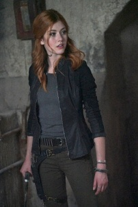 "SHADOWHUNTERS - ""Day of Wrath"" - No one is safe when the Shadowhunters come up against a new kind of demon in ""Day of Wrath,"" an all new episode of ""Shadowhunters,"" airing MONDAY, JANUARY 23 (8:00 – 9:00 PM EDT) on Freeform. (Freeform/Ian Watson) KATHERINE MCNAMARA"