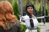 """SHADOWHUNTERS - """"Iron Sisters"""" - Clary and Isabelle head to The Citadel looking for answers in """"Iron Sisters,"""" an all new episode of """"Shadowhunters,"""" airing MONDAY, FEBRUARY 6 (8:00 – 9:00 PM EDT) on Freeform. (Freeform/John Medland) FARAH MERANI"""