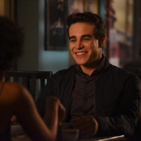 "SHADOWHUNTERS - ""How Are Thou Fallen"" - Clary and Luke find themselves at odds over Cleo in ""How Are Thou Fallen,"" an all new episode of ""Shadowhunters,"" airing MONDAY, FEBRUARY 13 (8:00 – 9:00 PM EDT) on Freeform. (Freeform/John Medland ALBERTO ROSENDE"