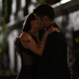 """SHADOWHUNTERS - """"Love Is a Devil"""" - Max's Rune Ceremony brings everyone's fears to the forefront in """"Love Is a Devil,"""" an all-new episode of """"Shadowhunters,"""" airing MONDAY, FEBRUARY 20 (8:00 - 9:00 p.m. EST), on Freeform. (Freeform/John Medland) EMERAUDE TOUBIA, DAVID CASTRO"""