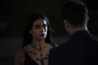 "SHADOWHUNTERS - ""Love Is a Devil"" - Max's Rune Ceremony brings everyone's fears to the forefront in ""Love Is a Devil,"" an all-new episode of ""Shadowhunters,"" airing MONDAY, FEBRUARY 20 (8:00 - 9:00 p.m. EST), on Freeform. (Freeform/John Medland) EMERAUDE TOUBIA"