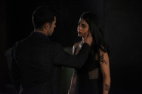 "SHADOWHUNTERS - ""Love Is a Devil"" - Max's Rune Ceremony brings everyone's fears to the forefront in ""Love Is a Devil,"" an all-new episode of ""Shadowhunters,"" airing MONDAY, FEBRUARY 20 (8:00 - 9:00 p.m. EST), on Freeform. (Freeform/John Medland) DAVID CASTRO, EMERAUDE TOUBIA"