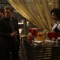 """SHADOWHUNTERS - """"Love Is a Devil"""" - Max's Rune Ceremony brings everyone's fears to the forefront in """"Love Is a Devil,"""" an all-new episode of """"Shadowhunters,"""" airing MONDAY, FEBRUARY 20 (8:00 - 9:00 p.m. EST), on Freeform. (Freeform/Ian Watson) DOMINIC SHERWOOD, ALISHA WAINWRIGHT"""