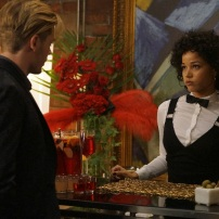 """SHADOWHUNTERS - """"Love Is a Devil"""" - Max's Rune Ceremony brings everyone's fears to the forefront in """"Love Is a Devil,"""" an all-new episode of """"Shadowhunters,"""" airing MONDAY, FEBRUARY 20 (8:00 - 9:00 p.m. EST), on Freeform. (Freeform/Ian Watson) ALISHA WAINWRIGHT"""
