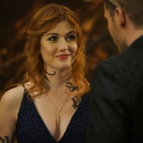 """SHADOWHUNTERS - """"Love Is a Devil"""" - Max's Rune Ceremony brings everyone's fears to the forefront in """"Love Is a Devil,"""" an all-new episode of """"Shadowhunters,"""" airing MONDAY, FEBRUARY 20 (8:00 - 9:00 p.m. EST), on Freeform. (Freeform/Ian Watson) KATHERINE MCNAMARA"""