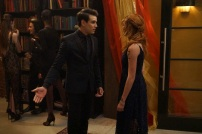 """SHADOWHUNTERS - """"Love Is a Devil"""" - Max's Rune Ceremony brings everyone's fears to the forefront in """"Love Is a Devil,"""" an all-new episode of """"Shadowhunters,"""" airing MONDAY, FEBRUARY 20 (8:00 - 9:00 p.m. EST), on Freeform. (Freeform/Ian Watson) ALBERTO ROSENDE, KATHERINE MCNAMARA"""