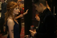 """SHADOWHUNTERS - """"Love Is a Devil"""" - Max's Rune Ceremony brings everyone's fears to the forefront in """"Love Is a Devil,"""" an all-new episode of """"Shadowhunters,"""" airing MONDAY, FEBRUARY 20 (8:00 - 9:00 p.m. EST), on Freeform. (Freeform/Ian Watson) KATHERINE MCNAMARA, HARRY SHUM JR."""