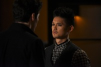 "SHADOWHUNTERS - ""Bound By Blood"" - Clary is sidelined by Iris' blood oath, while the Downworld begins to fall apart, in ""Bound By Blood,"" an all-new episode of ""Shadowhunters,"" airing MONDAY, FEBRUARY 27 (8:00 - 9:01 p.m. EST), on Freeform. (Freeform/John Medland) HARRY SHUM JR."