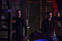 """SHADOWHUNTERS - """"Bound By Blood"""" - Clary is sidelined by Iris' blood oath, while the Downworld begins to fall apart, in """"Bound By Blood,"""" an all-new episode of """"Shadowhunters,"""" airing MONDAY, FEBRUARY 27 (8:00 - 9:01 p.m. EST), on Freeform. (Freeform/John Medland) DOMINIC SHERWOOD, ALBERTO ROSENDE"""
