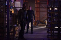 """SHADOWHUNTERS - """"Bound By Blood"""" - Clary is sidelined by Iris' blood oath, while the Downworld begins to fall apart, in """"Bound By Blood,"""" an all-new episode of """"Shadowhunters,"""" airing MONDAY, FEBRUARY 27 (8:00 - 9:01 p.m. EST), on Freeform. (Freeform/John Medland) ISAIAH MUSTAFA, DOMINIC SHERWOOD"""