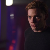 "SHADOWHUNTERS - ""Bound By Blood"" - Clary is sidelined by Iris' blood oath, while the Downworld begins to fall apart, in ""Bound By Blood,"" an all-new episode of ""Shadowhunters,"" airing MONDAY, FEBRUARY 27 (8:00 - 9:01 p.m. EST), on Freeform. (Freeform/John Medland) DOMINIC SHERWOOD"