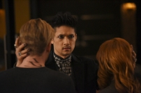 "SHADOWHUNTERS - ""By The Light Of Dawn"" - Valentine's plan is in full effect and the Shadowhunters must act fast to save the Downworld in ""By the Light of Dawn,"" the spring finale of ""Shadowhunters,"" airing MONDAY, MARCH 6 (8:00 – 9:01 p.m. EST), on Freeform. (Freeform/John Medland) HARRY SHUM JR."
