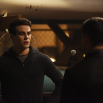 "SHADOWHUNTERS - ""Mea Maxima Culpa"" - Everyone is dealing with the aftermath of the Soul Sword attack at the Institute in ÒMea Maxima Culpa,Ó the summer premiere of ÒShadowhunters,Ó airing MONDAY, JUNE 5 (8:00 - 9:00 PM EDT) on Freeform and on the Freeform app. (Freeform/John Medland) ALBERTO ROSENDE"