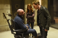 """SHADOWHUNTERS - """"Mea Maxima Culpa"""" - Everyone is dealing with the aftermath of the Soul Sword attack at the Institute in ÒMea Maxima Culpa,Ó the summer premiere of ÒShadowhunters,Ó airing MONDAY, JUNE 5 (8:00 - 9:00 PM EDT) on Freeform and on the Freeform app. (Freeform/John Medland) KATHERINE MCNAMARA, ALAN VAN SPRANG, DOMINIC SHERWOOD"""