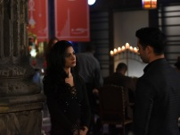 "SHADOWHUNTERS - ""The Fair Folk"" - Alec has big plans to mend fences with the Downworlders, while Jace and Clary are summoned by the Seelie Queen in ""The Fair Folk"", an all-new episode of ÒShadowhuntersÓ airing on Monday, June 26 (8:00 - 9:00 PM ET/PT) on Freeform and the Freefom app. (Freeform/John Medland) EMERAUDE TOUBIA, MATTHEW DADDARIO"