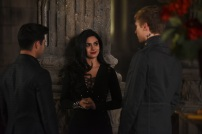 "SHADOWHUNTERS - ""The Fair Folk"" - Alec has big plans to mend fences with the Downworlders, while Jace and Clary are summoned by the Seelie Queen in ""The Fair Folk"", an all-new episode of ÒShadowhuntersÓ airing on Monday, June 26 (8:00 - 9:00 PM ET/PT) on Freeform and the Freefom app. (Freeform/John Medland) MATTHEW DADDARIO, EMERAUDE TOUBIA, WILL TUDOR"