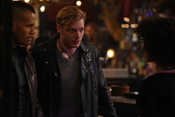 "SHADOWHUNTERS - ""Those of Demon Blood"" - After several Shadowhunters are killed, The Institute turns to controversial methods to prevent a Downworlder uprising in ÒThose of Demon Blood,Ó an all-new episode of ÒShadowhuntersÓ airing Tuesday, June 19 (8:00 - 9:00 PM ET/PT). (Freeform/John Medland) DOMINIC SHERWOOD, ALISHA WAINWRIGHT"