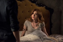 "SHADOWHUNTERS - ""Those of Demon Blood"" - After several Shadowhunters are killed, The Institute turns to controversial methods to prevent a Downworlder uprising in ÒThose of Demon Blood,Ó an all-new episode of ÒShadowhuntersÓ airing Tuesday, June 19 (8:00 - 9:00 PM ET/PT). (Freeform/John Medland) KATHERINE MCNAMARA"