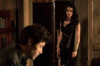 """SHADOWHUNTERS - """"A Problem with Memory"""" - Simon goes down a dark path while Alec and team prepares to transport Valentine in ÒA Problem of Memory,Ó an all-new episode of """"Shadowhunters"""" airing Monday, July 10th at 8:00 - 9:00 PM ET/PT. (Freeform/Ian Watson) MATTHEW DADDARIO, EMERAUDE TOUBIA"""