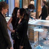 "SHADOWHUNTERS - ""A Problem with Memory"" - Simon goes down a dark path while Alec and team prepares to transport Valentine in ÒA Problem of Memory,Ó an all-new episode of ""Shadowhunters"" airing Monday, July 10th at 8:00 - 9:00 PM ET/PT. (Freeform/Ian Watson) WILL TUDOR, EILEEN LI"