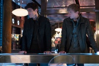"""SHADOWHUNTERS - """"A Problem with Memory"""" - Simon goes down a dark path while Alec and team prepares to transport Valentine in ÒA Problem of Memory,Ó an all-new episode of """"Shadowhunters"""" airing Monday, July 10th at 8:00 - 9:00 PM ET/PT. (Freeform/Ian Watson) MATTHEW DADDARIO, WILL TUDOR"""