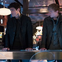 "SHADOWHUNTERS - ""A Problem with Memory"" - Simon goes down a dark path while Alec and team prepares to transport Valentine in ÒA Problem of Memory,Ó an all-new episode of ""Shadowhunters"" airing Monday, July 10th at 8:00 - 9:00 PM ET/PT. (Freeform/Ian Watson) MATTHEW DADDARIO, WILL TUDOR"