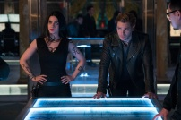 """SHADOWHUNTERS - """"A Problem with Memory"""" - Simon goes down a dark path while Alec and team prepares to transport Valentine in ÒA Problem of Memory,Ó an all-new episode of """"Shadowhunters"""" airing Monday, July 10th at 8:00 - 9:00 PM ET/PT. (Freeform/Ian Watson) EMERAUDE TOUBIA, DOMINIC SHERWOOD"""