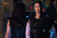 """SHADOWHUNTERS - """"A Problem with Memory"""" - Simon goes down a dark path while Alec and team prepares to transport Valentine in ÒA Problem of Memory,Ó an all-new episode of """"Shadowhunters"""" airing Monday, July 10th at 8:00 - 9:00 PM ET/PT. (Freeform/Ian Watson) EMERAUDE TOUBIA, EILEEN LI"""