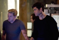 """SHADOWHUNTERS - """"On Infernal Ground"""" - In the season three premiere, secrets abound as the Shadowhunters and Downworlders try to get back to normal after ValentineÕs death. This episode of """"Shadowhunters"""" airs Tuesday, March 20 (8:00 - 9:00 P.M. ET/PT) on Freeform. (Freeform/John Medland) DOMINIC SHERWOOD, MATTHEW DADDARIO"""
